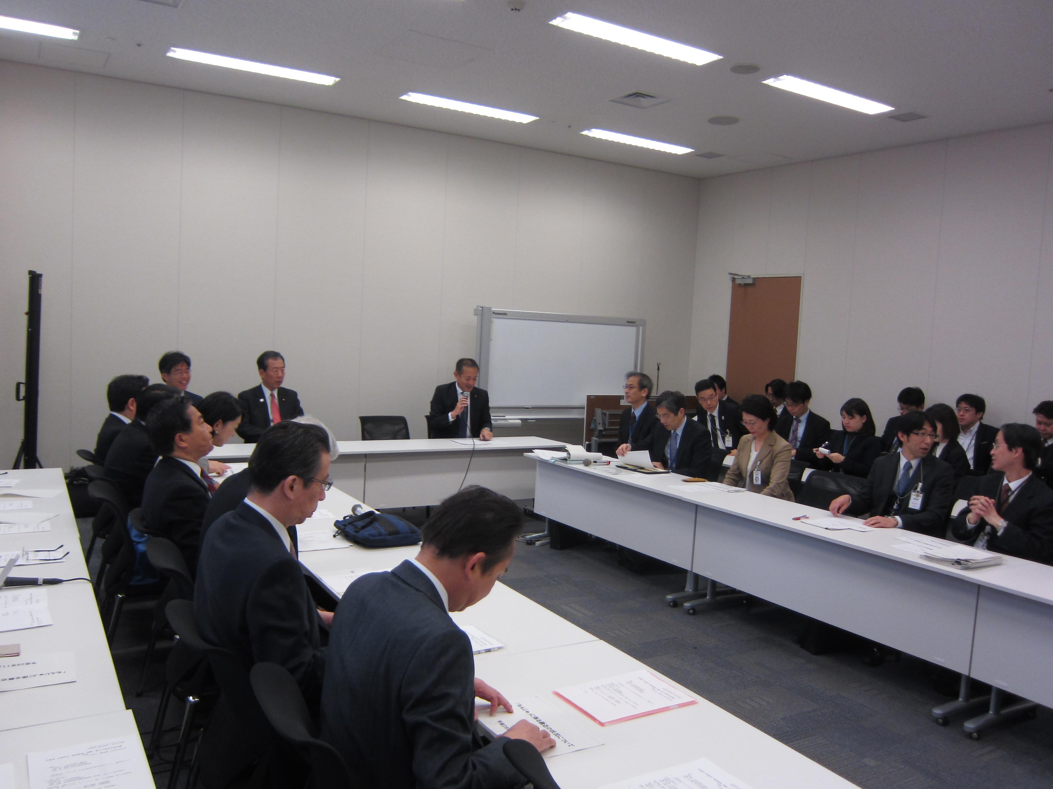 文部科学・経済産業・環境・原子力部門合同会議・文部科学部門会議
