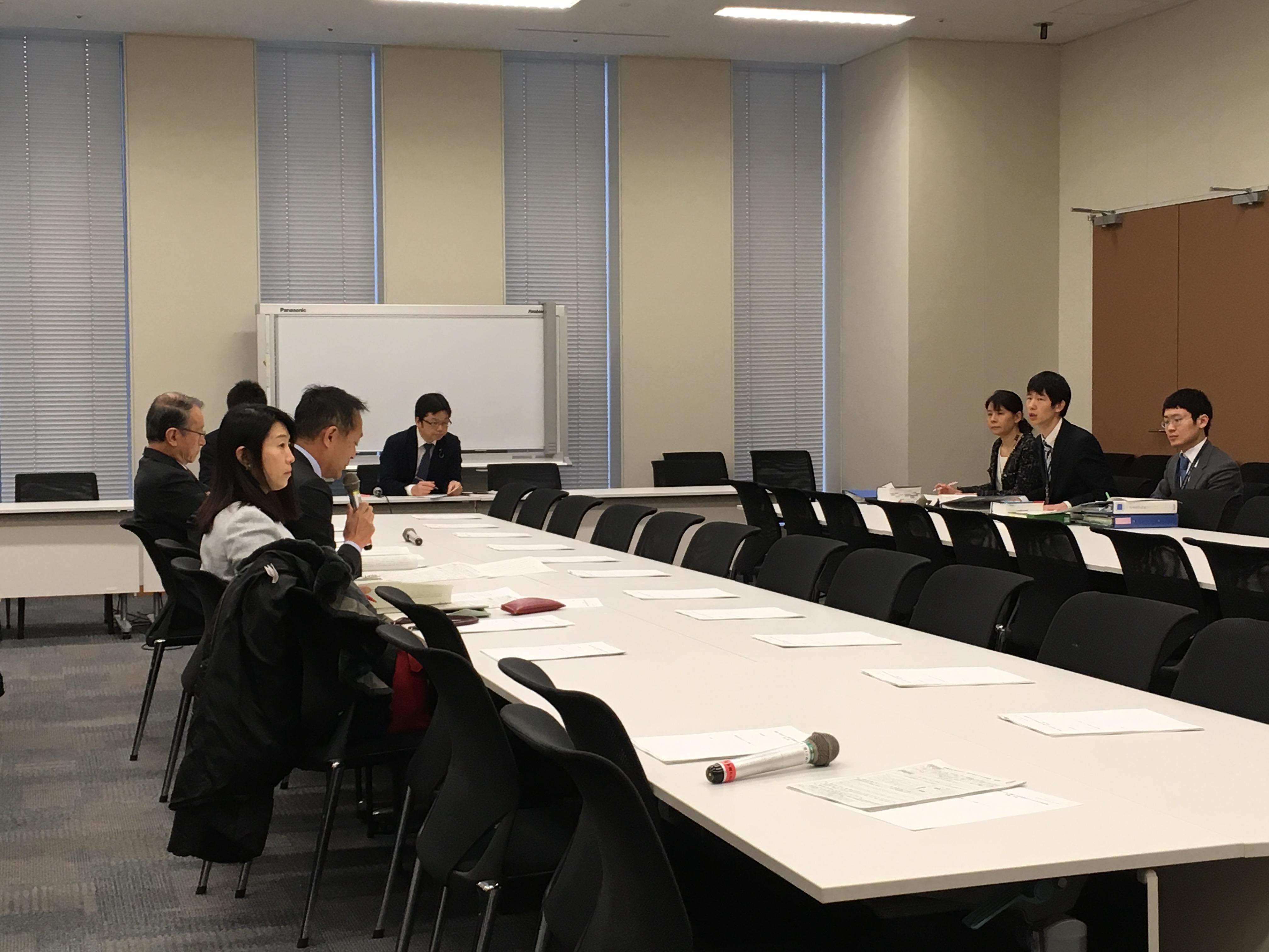 民進党、希望の党による『働き方改革検討のための合同会議』