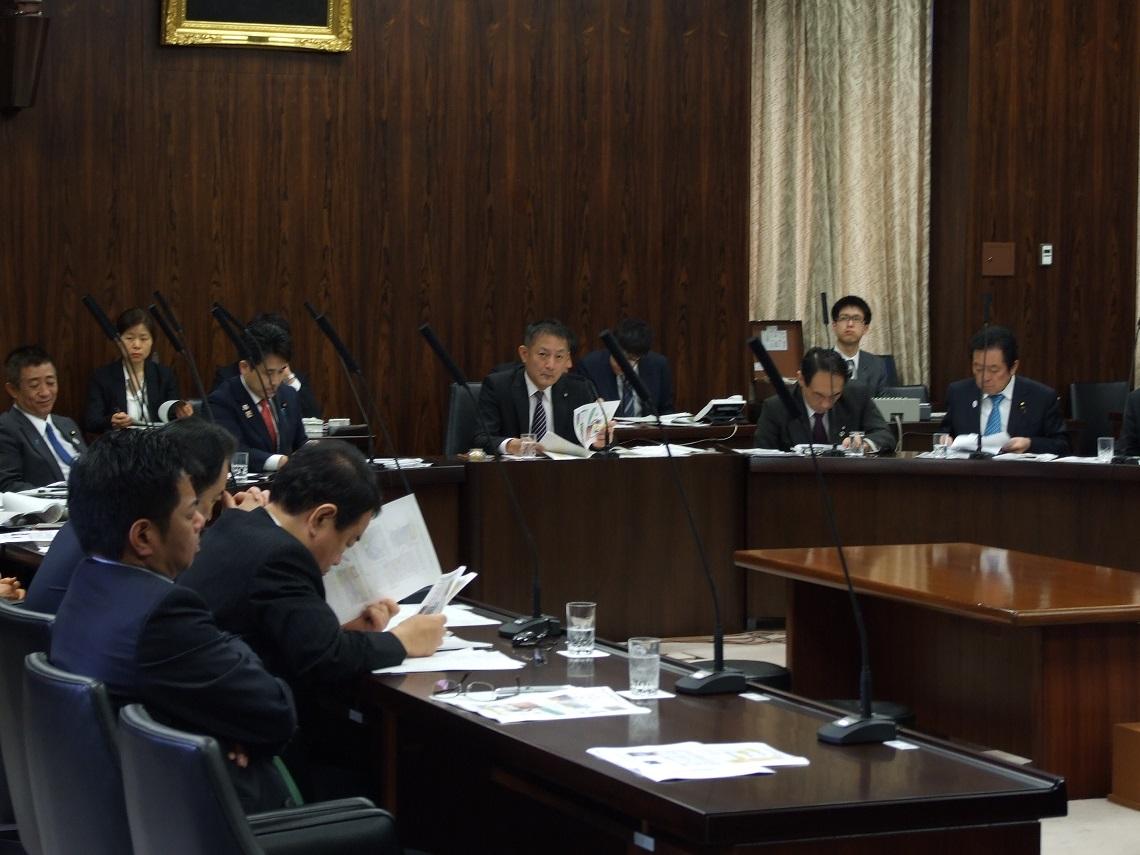 経済産業委員会 大臣所信に対する質疑