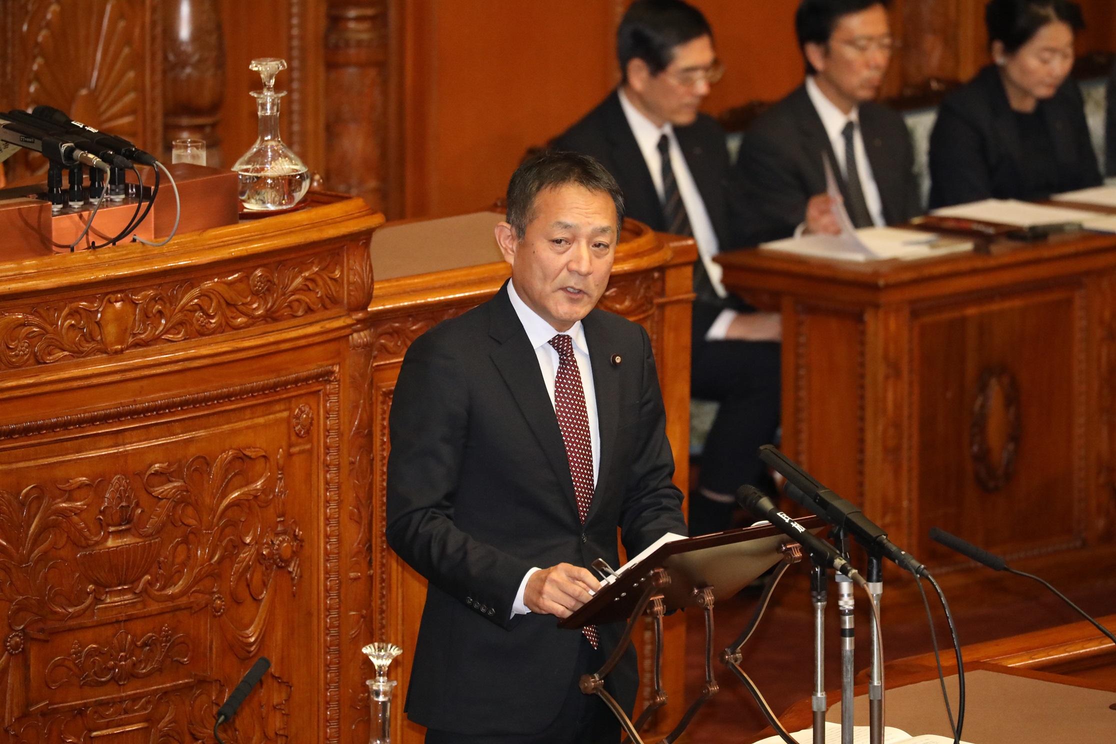 【参院本会議】給特法改正案が審議入り(記事)